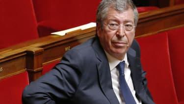 Patrick Balkany à l'Assemblée nationale, en septembre 2014.