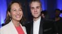 Ségolène Royal au côté de Justin Bieber