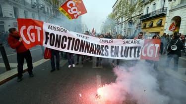 Image d'illustration. Une manifestation à Marseille le 31 mars 2016.