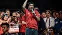 Rodrigo Duterte lors de son dernier meeting de campagne, le 7 mai 2016, à Manille.