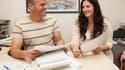 """Aux États-Unis, 40% des salariés déclarent avoir une """"office soulmate"""", une """"âme soeur du bureau""""."""