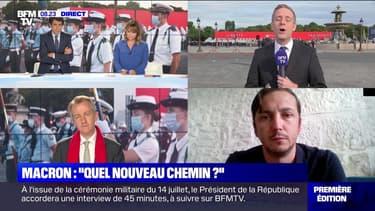 """Macron : """"quel nouveau chemin"""" ? - 14/07"""