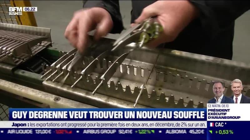 La France qui résiste : Guy Degrenne veut trouver un nouveau souffle par Justine Vassogne - 21/01