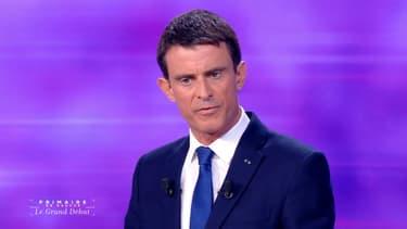 """Manuel Valls a marqué son intention d'apparaître comme le candidat le plus """"crédible""""."""
