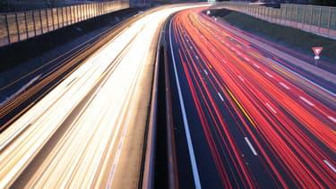 Un automobiliste au volant d'une BMW M3 a été flashé roulant à 255 km/h le jour de l'An sur l'autoroute A25 à Steenvoorde (Nord), où la vitesse est limitée à 130 km - Mardi 5 janvier 2016 - Photo d'illustration
