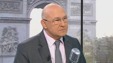 Michel Sapin était l'invité de Jean-Jacques Bourdin ce lundi matin.