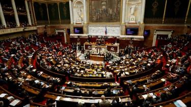 L'Assemblée nationale, le 18 juin 2017 à Paris.