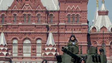 La parade militaire à Moscou le 9 mai 2016.