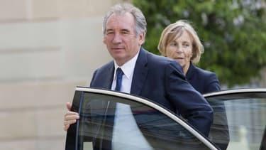 François Bayrou et Marielle de Sarnez, le 25 juin 2016, à Paris.