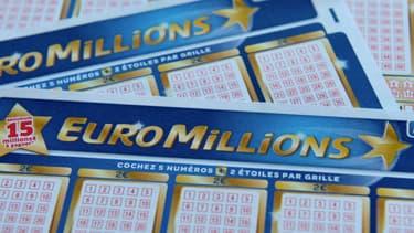 Ticket d'EuroMillions.