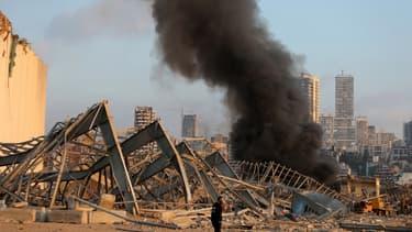 La capitale du Liban a été frappée mardi par deux violentes explosions, causant la mort de plusieurs personnes;