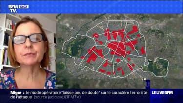 """Masques à Paris: selon Anne Souyris, la nouvelle carte par zones est """"plus parlante"""""""