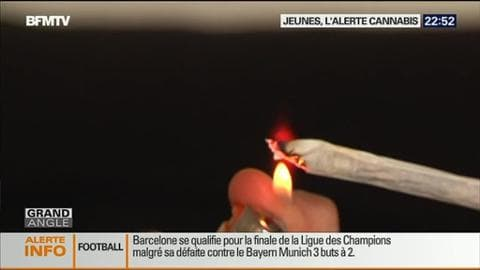 Près d'un jeune de 17 ans sur deux a déjà fumé du cannabis