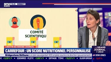 Amélie Oudéa-Castera (Carrefour) : le groupe lance le score nutritionnel personnalisé - 19/10