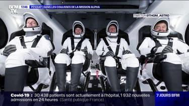 Pesquet, dans les coulisses de la mission Alpha - 24/04