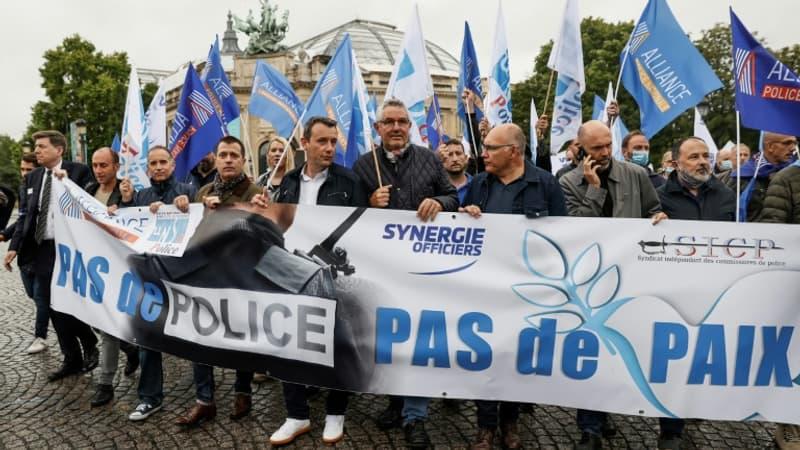 Rassemblement statique, sans prise de parole politique: à quoi va ressembler la mobilisation policière de mercredi?