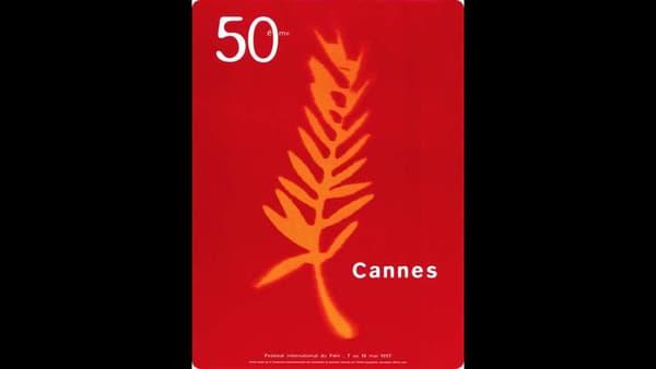 L'affiche sur 50e festival de Cannes, en 1997.