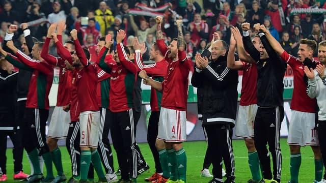 Les Hongrois fêtent leur qualification à l'Euro