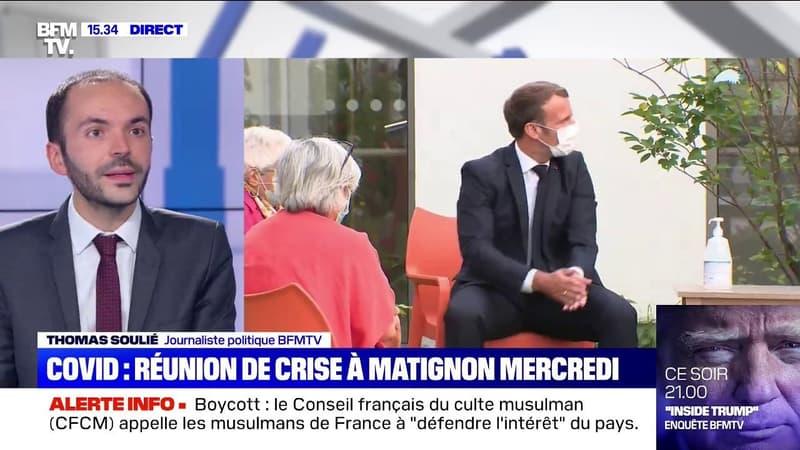 Crise sanitaire: Une dizaine de ministres se réuniront mercredi à Matignon