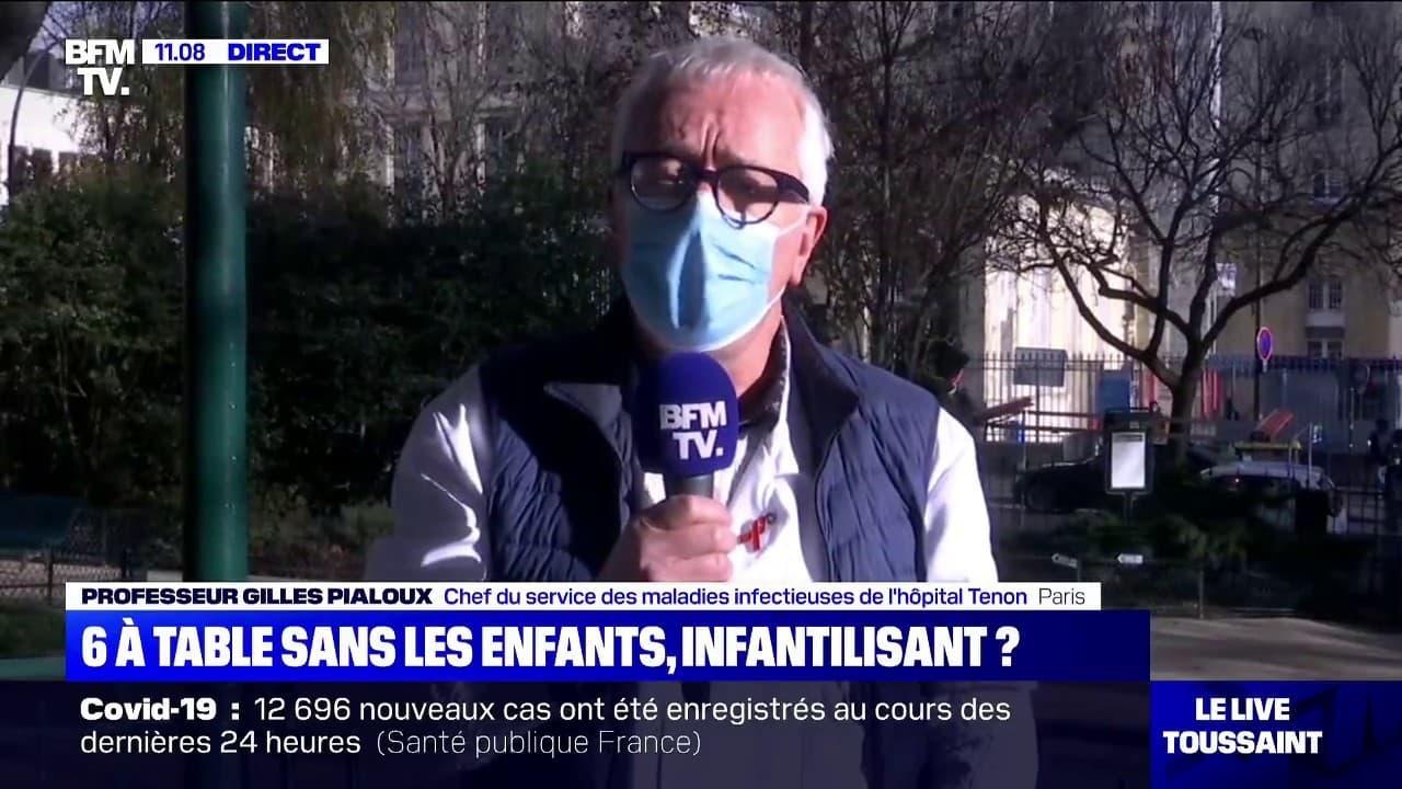 """L'infectiologue Gilles Pialoux recommande de """"pratiquer un test 48 heures avant les réunions familiales"""" pour Noël"""