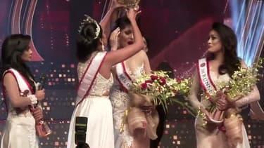 Le concours de Miss Sri Lanka