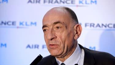 Jean-Marc Janaillac n'entend pas céder aux revendications salariales des personnels d'Air France.