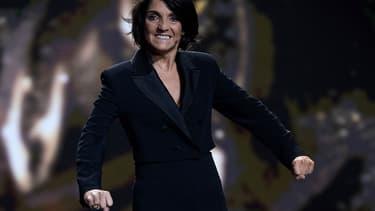 Florence Foresti sur la scène des César, le 28 février 2020