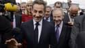 Nicolas Sarkozy a remis la Légion d'honneur à Claude Birraux (à droite).