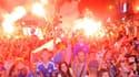 Une foule en délire accueille les l'équipe de Bosnie U16 championne d'Europe à Sarajevo