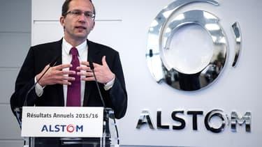 Henri Poupart-Lafarge, le PDG d'Alstom, est dans le collimateur de Bercy.