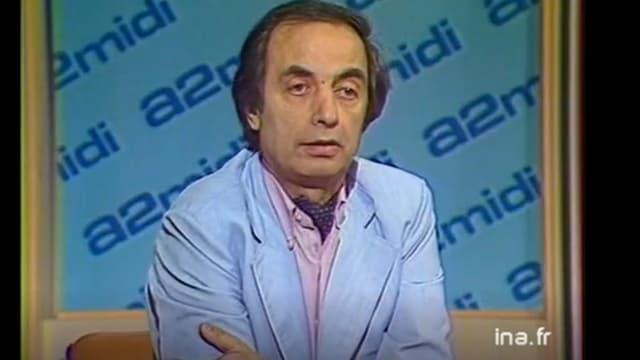 Le grand reporter Jacques Abouchar, en 1984.