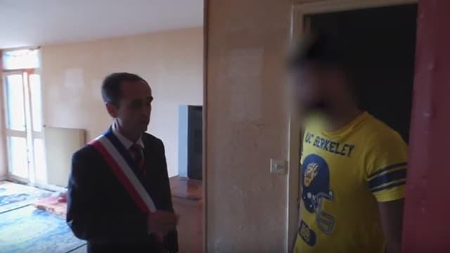 Le message qui accompagne la vidéo relatant l'action de Robert Ménard à Béziers