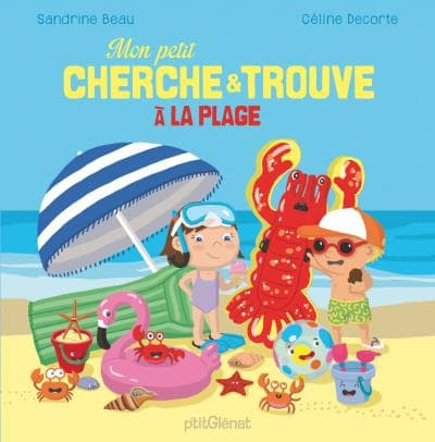 Mon petit cherche et trouve à la plagedeCéline Decorte et Sandrine Beau