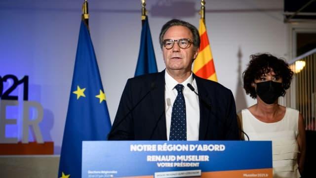 Renaud Muselier le 20 juin 2021 à Marseille