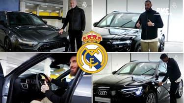 Liga: Les joueurs du Real ont reçu leur nouveau bolide Audi, Varane se distingue