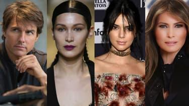 Tom Cruise, Bella Hadid, Kendall Jenner et Melania Trump ont fait l'actu cette semaine.