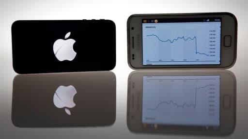 Apple et Samsung se partagent l'ensemble des bénéfices du secteur de la téléphonie mobile.