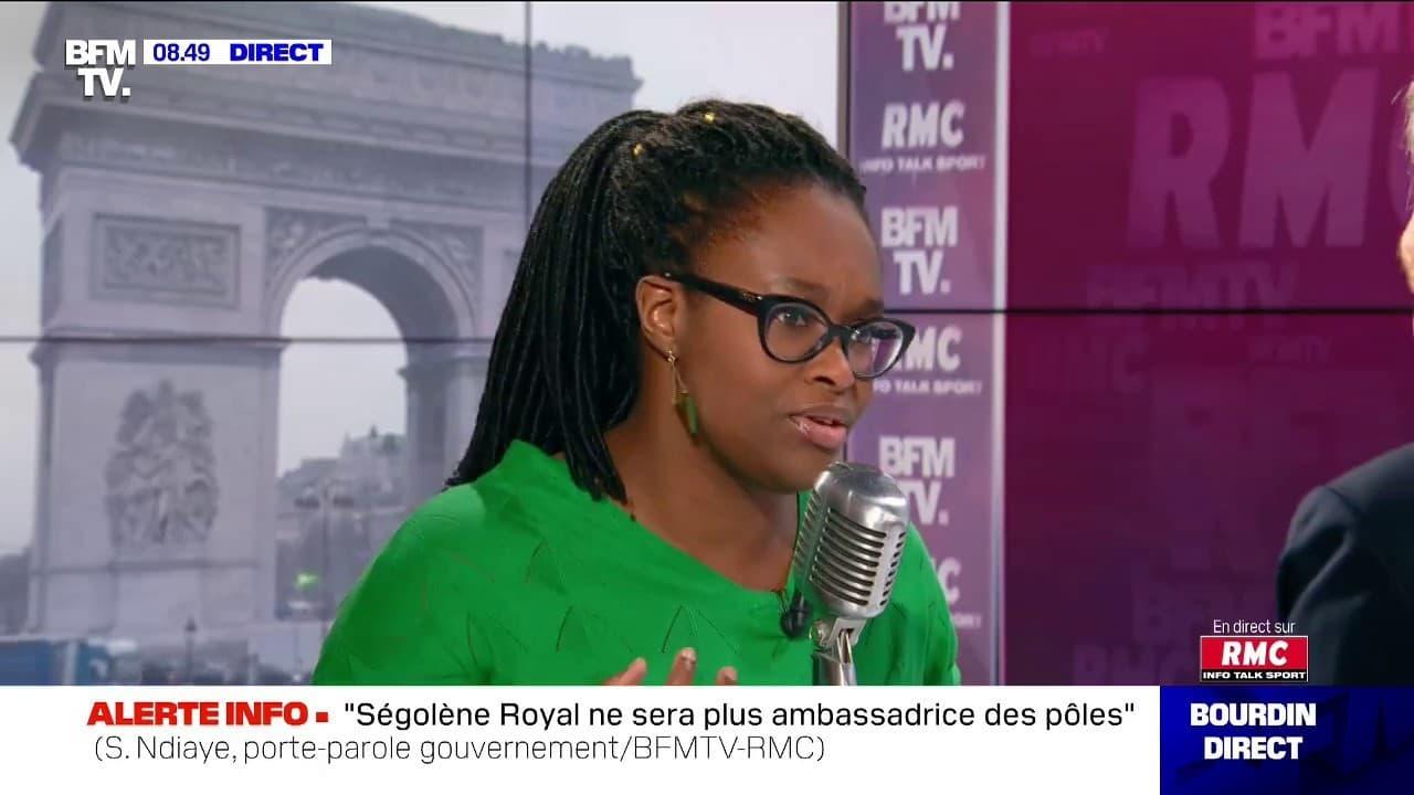 """Sibeth Ndiaye: """"On est un pays dont la démocratie est solide avec une totale liberté d'expression"""""""