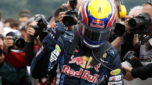 Cinquième pole position de l'année pour Mark Webber