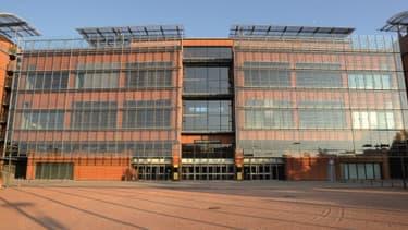 Le centre des congrès de Lyon, où se tient le salon des entrepreneurs.