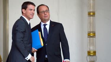 73% des sympathisants du PS souhaitent une candidature de Manuel Valls contre 59% pour François Hollande.
