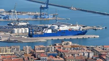 Le port de Sète.