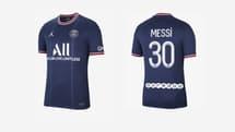 Maillot PSG floqué Messi : il est encore disponible sur le site officiel Nike !
