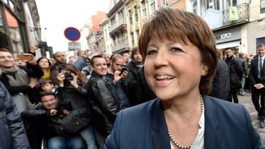 """Martine Aubry et ses proches vont déposer une """"contribution"""" pour préparer le prochain Congrès du Parti socialiste, programmé en juin prochain. Une manière de mettre en avant leurs idées et leurs convictions, avant de viser plus haut?"""