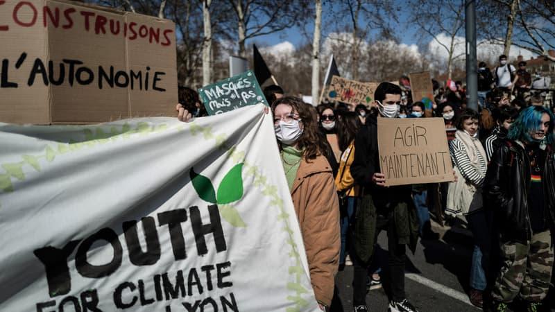 Marche pour le climat: des milliers de manifestants à Lyon ce dimanche