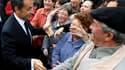 Nicolas Sarkozy, dans le petit village bourguignon de Montillot. Au plus bas dans les sondages à 18 mois de l'élection présidentielle de 2012, le chef de l'Etat a poursuivi jeudi au coeur de la France rurale sa campagne pour tenter de reconquérir une opin
