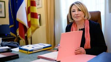 La maire d'Aix-en-Provence Maryse Joissains en 2013