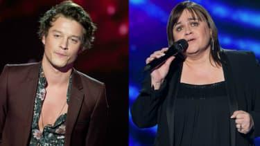 Sidoine et Lisa Angell dans The Voice
