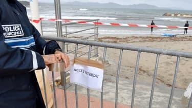 La plage de La Ciotat, elle aussi impactée plus tôt dans la semaine - Image d'illustration