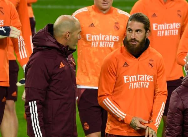 Zidane et Ramos